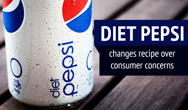 Diet Pepsi changes its artificial sweetener