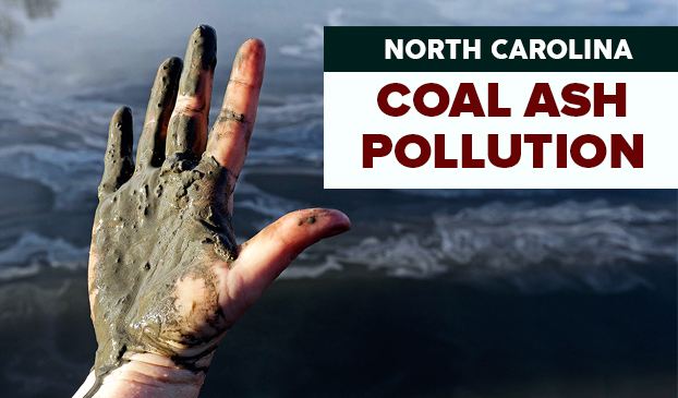 Coal ash polluting North Carolina