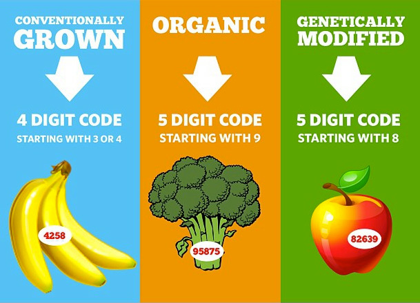 plu code infographic - learn about the fruits you're eating