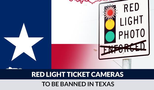 Red light ticket camera in Texas