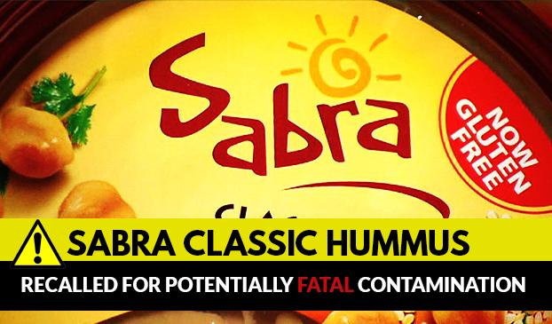 Sabra Classic Hummus recalled for health concerns