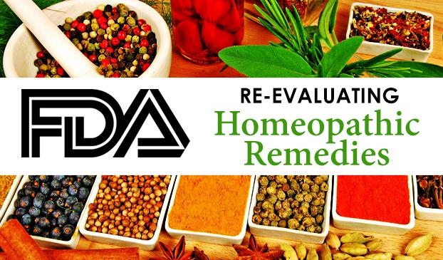 FDA to regulate homepathic drugs