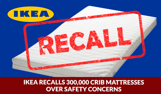 300,000 IKEA crib mattresses have been recalled