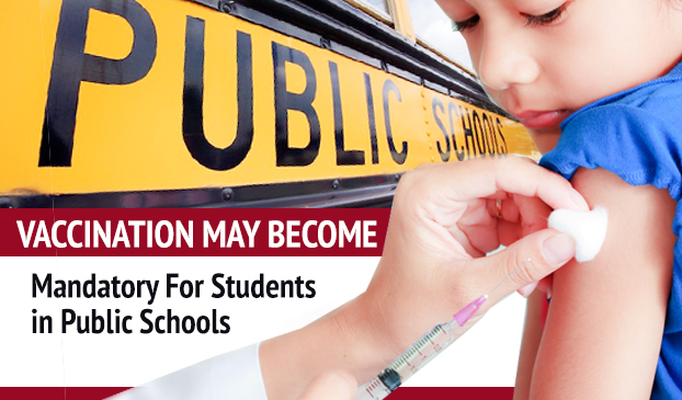 Vaccines will be required for students