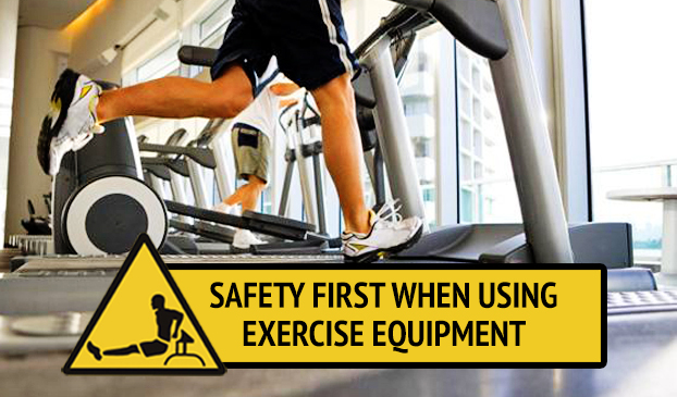 how to stay safe while using a treadmill