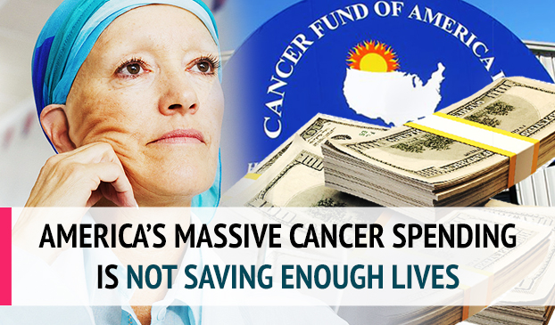 Why doesn't the United States' spending result in more lives saved from cancer?