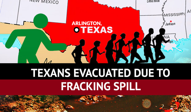 Texans Evacuated Due to a Spill of Fracking Liquid