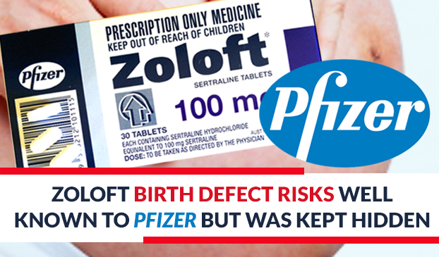 Did Pfizer hide the risk Zoloft placed on newborns?