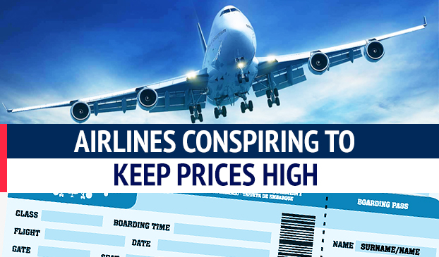 Airlines Conspiring to Keep Ticket Prices High