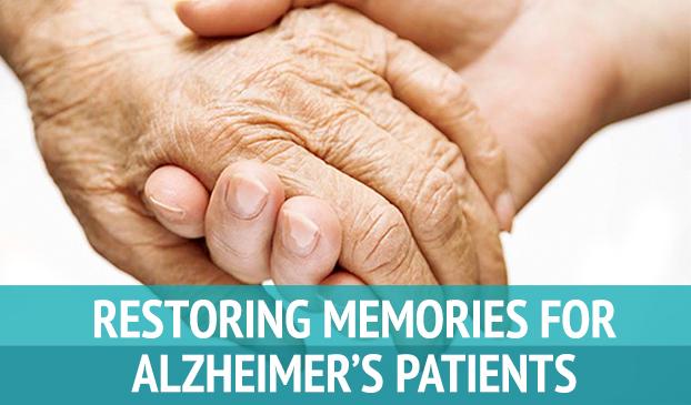 Restoring Memories for Alzheimer's Patients