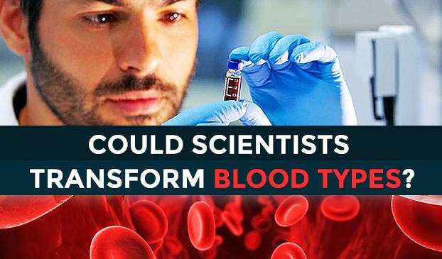 Creating universal blood.