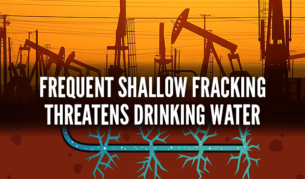 Shallow Fracking Could Contaminate Drinking Water