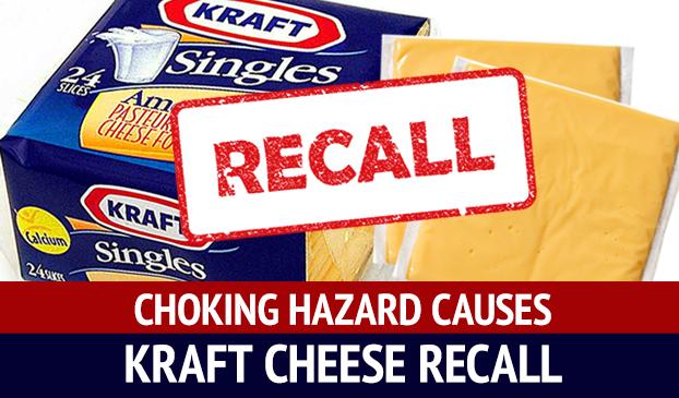 Kraft Heinz Company Recalls Kraft Singles Due To Choking Hazard