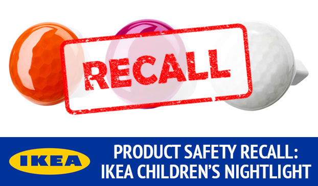 Electric Shock Nightlight From IKEA Is Recalled