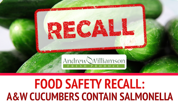 A&W Cucumbers May Be the Cause Of Recent Salmonella Poona Outbreak