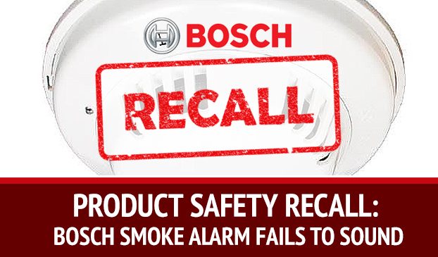 Bosch Security Systems Recalls Faulty Smoke Detectors