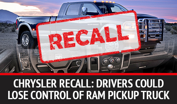 Chrysler Ram Pickup Trucks Recalled