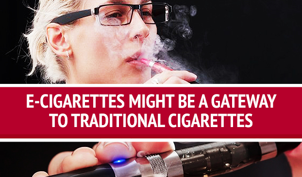 Vaping An E-Cigarette Could Be A Gateway To Smoking Traditional Cigarettes