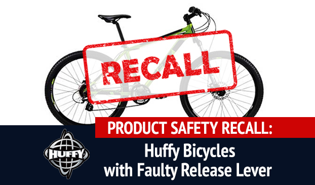 Huffy Corporation Bicycles Recalled For Product Safety