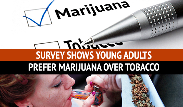 Monitoring The Future's Annual Study Shows College Students Prefer To Use Marijuana, Not Cigarettes