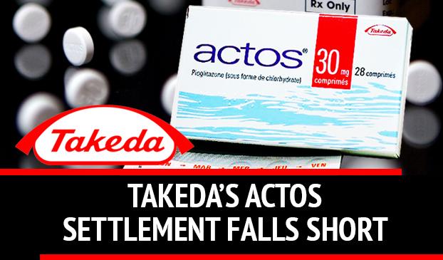 Takeda Pharmaceutical Settlement