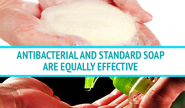 Antibacterial Hand Soap Is Not More Effective Than Regular Hand Soap