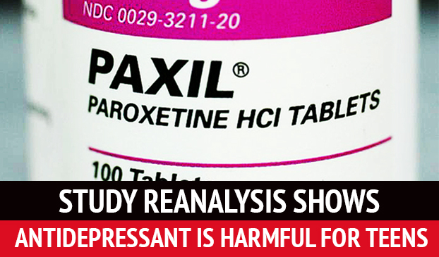 Revisited Study Shows Paxil Is A Harmful For Young Adults And Teens
