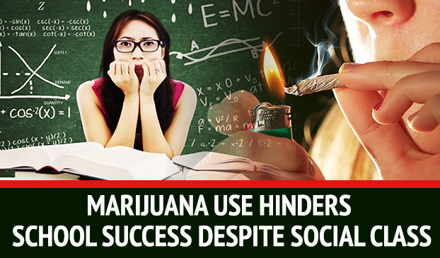 Smoking Pot Lessens Ability To Succeed In School For Students Of All Social Classes