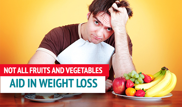Only Certain Fruits And Veggies Are Able To Help Decrease Weight