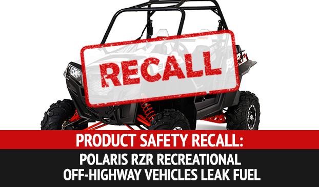 Polaros RZR Recreational Off-Highway Vehicles Recalled Due To Fire Hazard