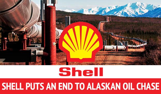 Shell Halts Hunting For Oil In Alaska