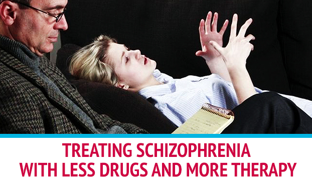 Rethinking The Treatment Of Schizophrenic Episodes To Focus More On Talk Therapy Than Antipsychotic Medication