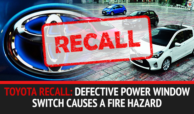 Toyota Recalls Millions Of Vehicles With Faulty Power Window Switch Causing A Fire Hazard