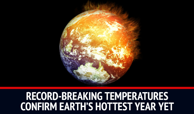 2015 Breaks Records With The Hottest Temperatures On Earth