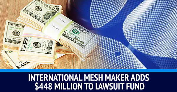 Danish Transvaginal Mesh Maker Increases Settlement Fund By Millions