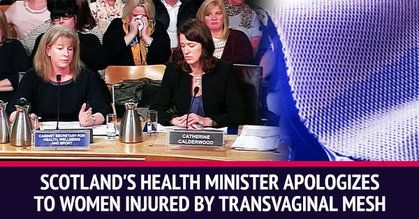 Scotland Recognizes The Severity Of Complications With Transvaginal Mesh While U.S. FDA Remains Silent For Years