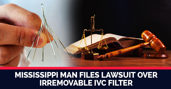 Inferior Vena Cava Filters Are Difficult To Remove And People Can File Lawsuits Against The Medical Device Manufacturer
