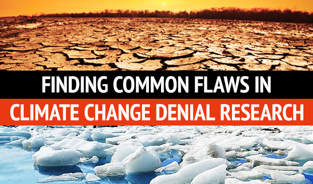 Climate Change Contrarian Research Is Full Of Mistakes