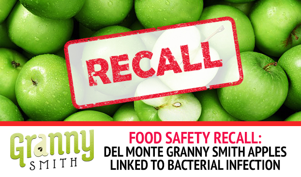 Granny Smith Green Apples Contaminated With Bacteria